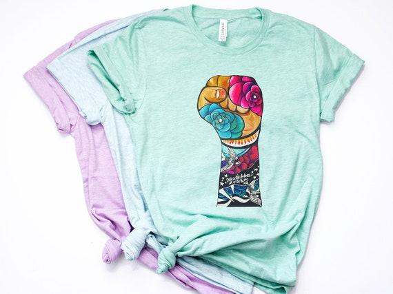 Resist - Floral Sparrow  - Unisex T-shirts - 3001