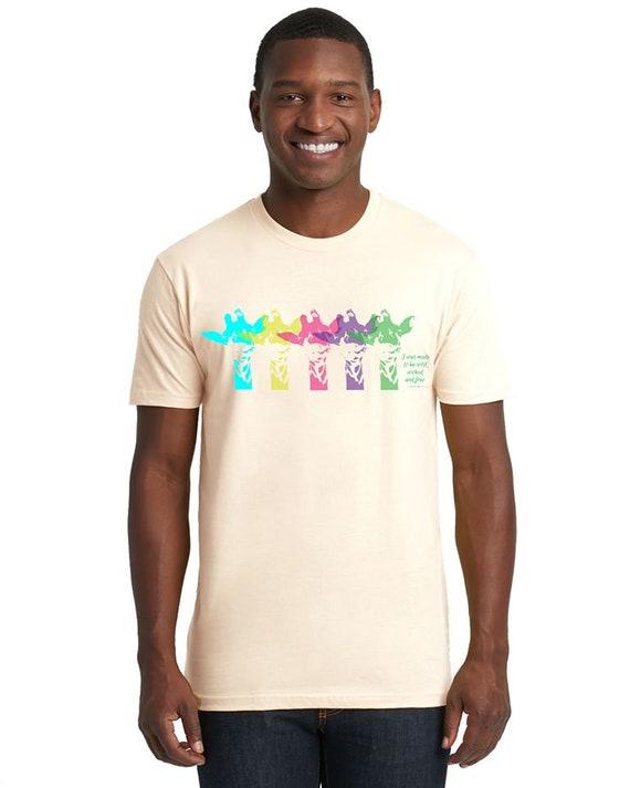 Giraffe Shirt - 2 Styles - Supporting CRASH - Unisex and Women's Fitted  Tshirt