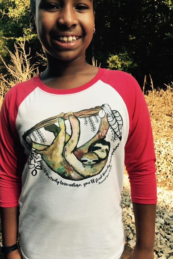 Colorful Conservation Children's T's - MULTIPLE DESIGNS AVAILABLE - Youth Unisex Baseball Tshirts