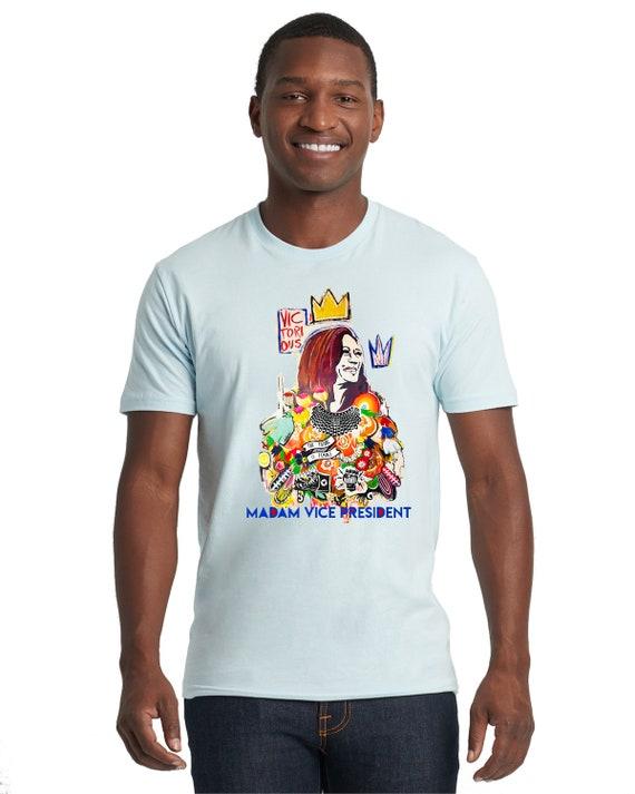 Kamala Harris Madam Vice President 2020 - Men/Unisex  Tshirt