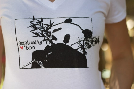 Just Me and My 'Boo Panda T-shirt