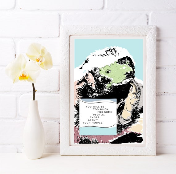 Honey Badger - Those Aren't Your People - Original Artwork - Prints