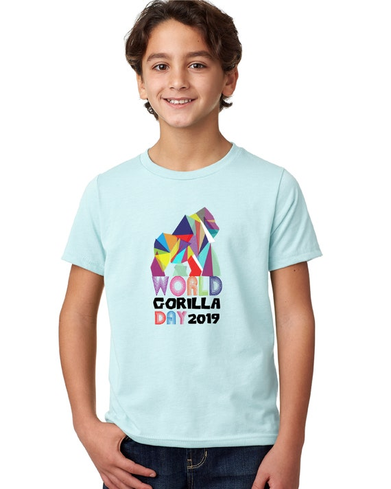 World Gorilla Day -  Kid's Tshirt
