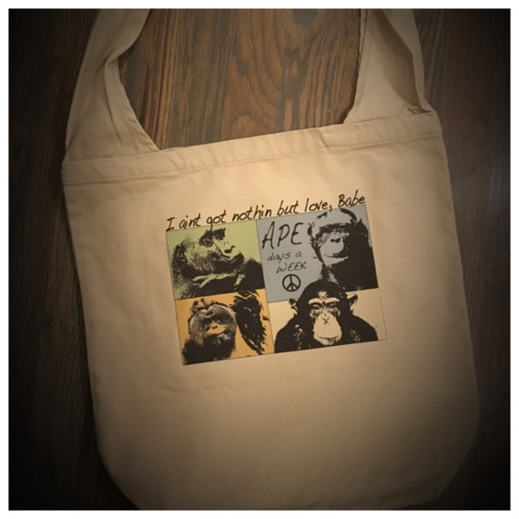 Ape Days a Week Canvas Tote