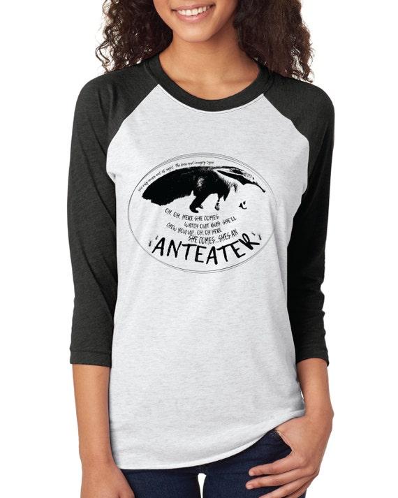 Anteater Baseball tshirt - Careful, it's an ear worm!
