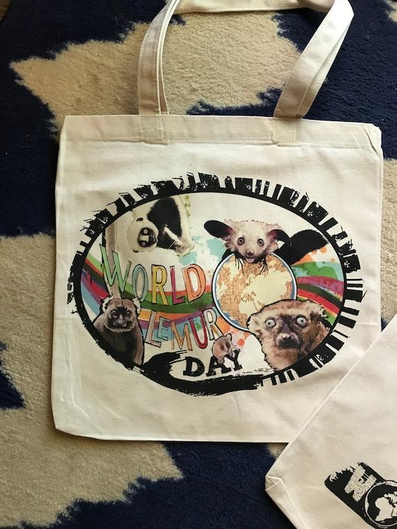 World Lemur Day Tote