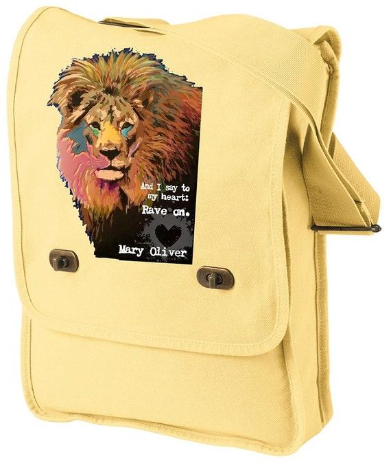 Rave On - Jackie Woods Artist - Messenger Bag - Original Artwork