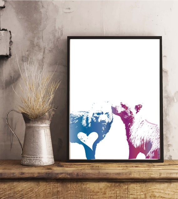 Bushdog Love Print - Original Artwork - Prints