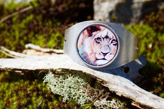 Lion Cuff Bracelet