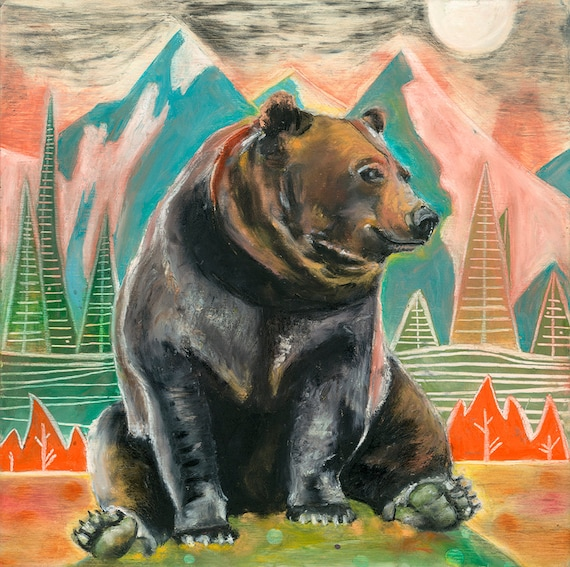 Grizzly Bear PRINTS! (Giclee)
