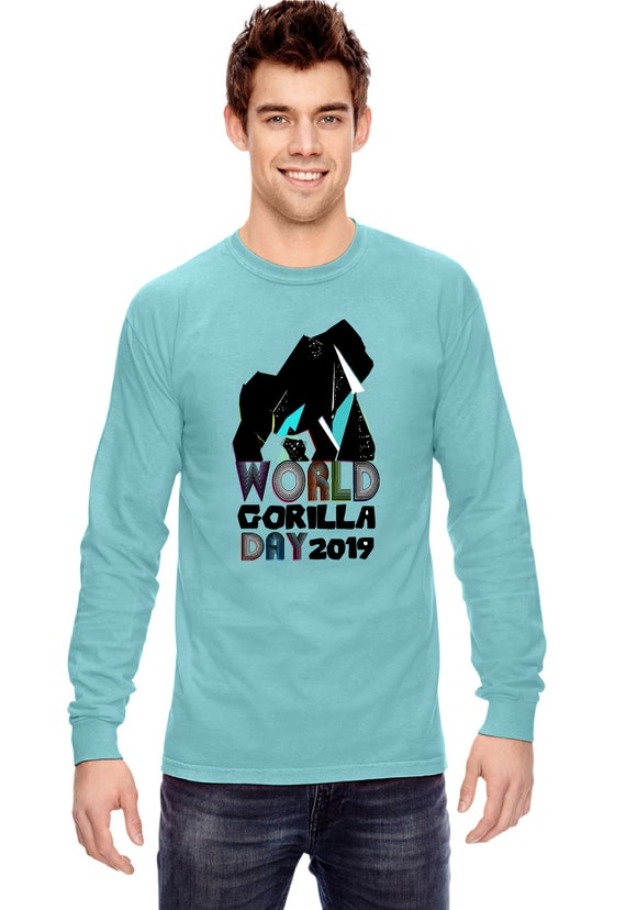 World Gorilla Day - Unisex Long sleeve Shirt