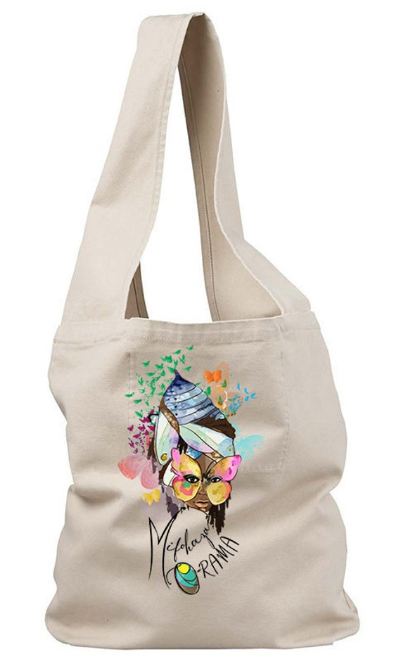 Wake Up Sling Canvas Tote