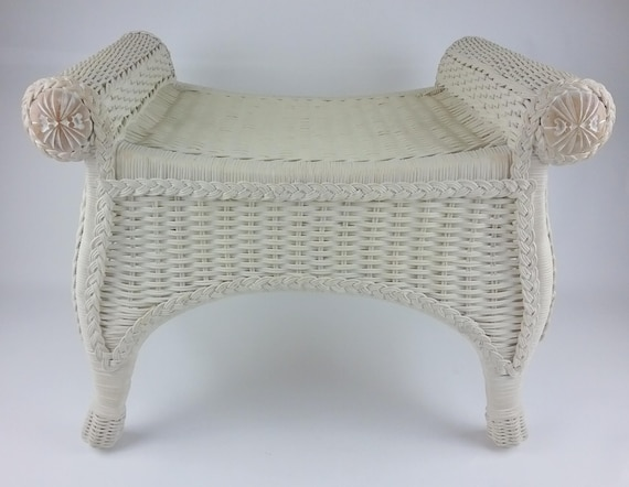 Fantastic Pier 1 One Jamaica Imports Wicker Wood Vanity Desk Stool Caraccident5 Cool Chair Designs And Ideas Caraccident5Info