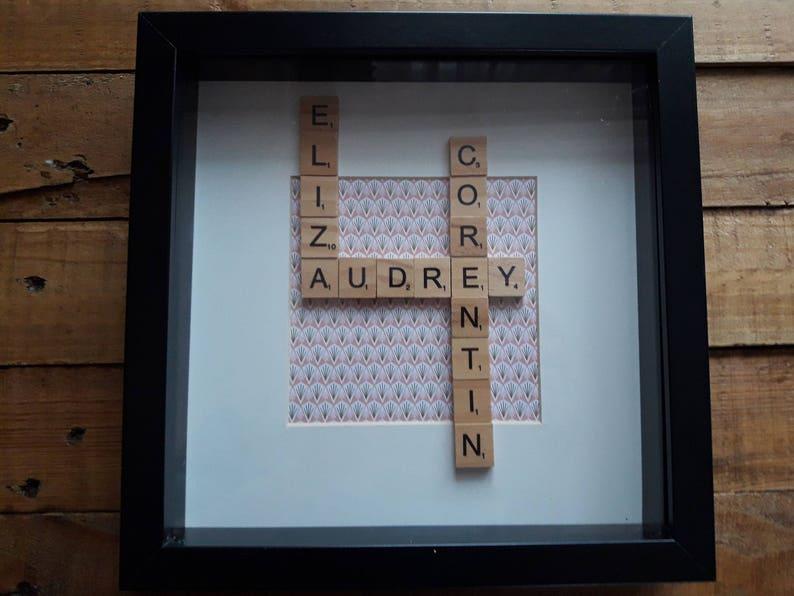 Parete Di Legno Cruciverba : Nomi di framework con lettere scrabble modo legno etsy