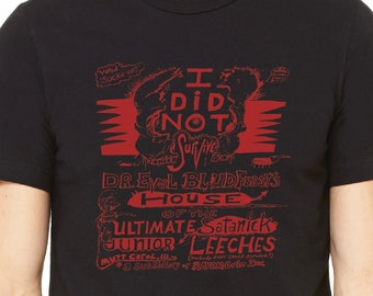 I Did Not Survive.. Jim Warfield haunted house shirt