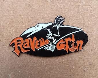 Ravens Grin Inn Logo Enamel Pin