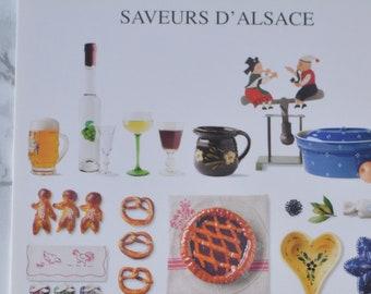 Vintage French postcards kitchen motifs, food, Alsace, Alsace, petit dejeuner, country kitchen decoration, greeting cards France