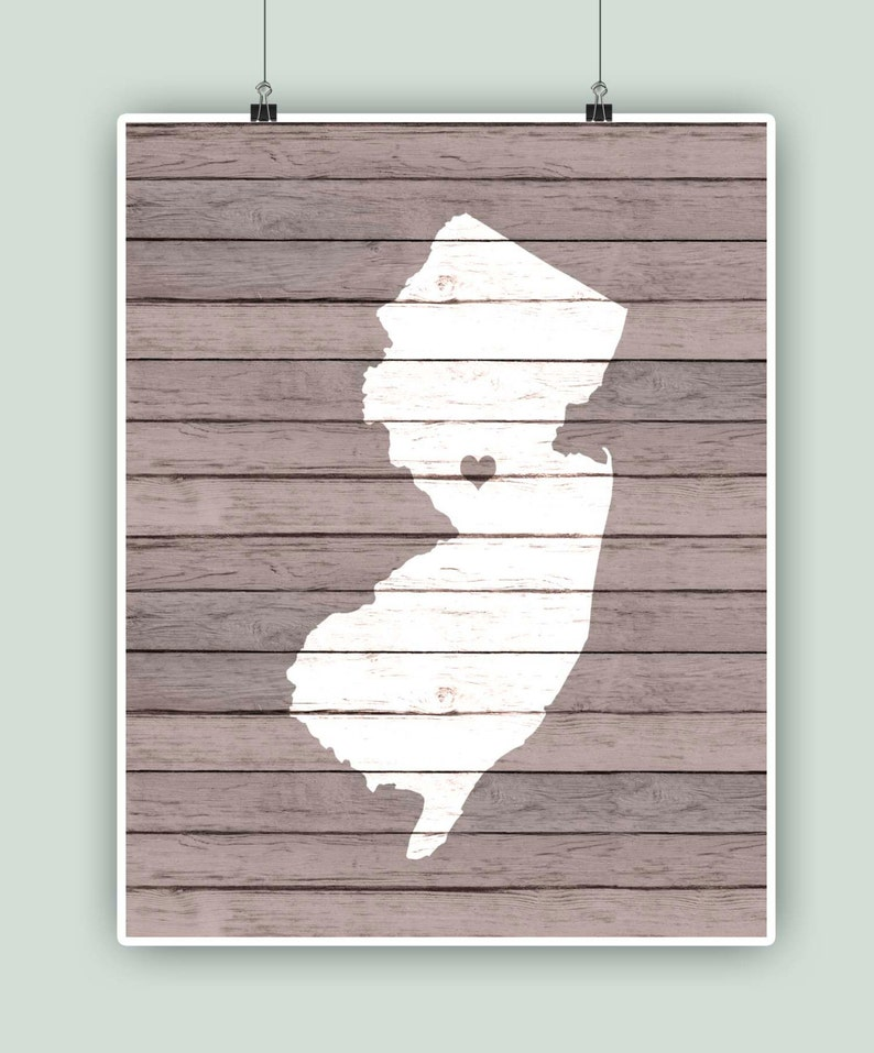 graduation gift Princeton Family Established Wedding New Jersey Poster Personalized New Jersey State Map Engagement Gift