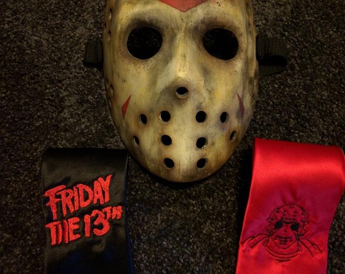Friday The 13th/Jason Tie (necktie)