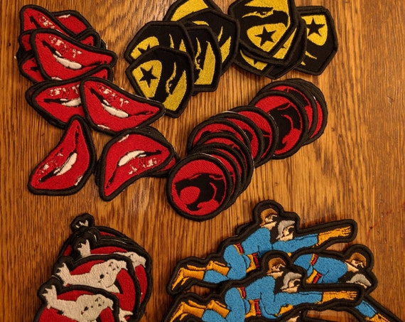 Throw Back Patches
