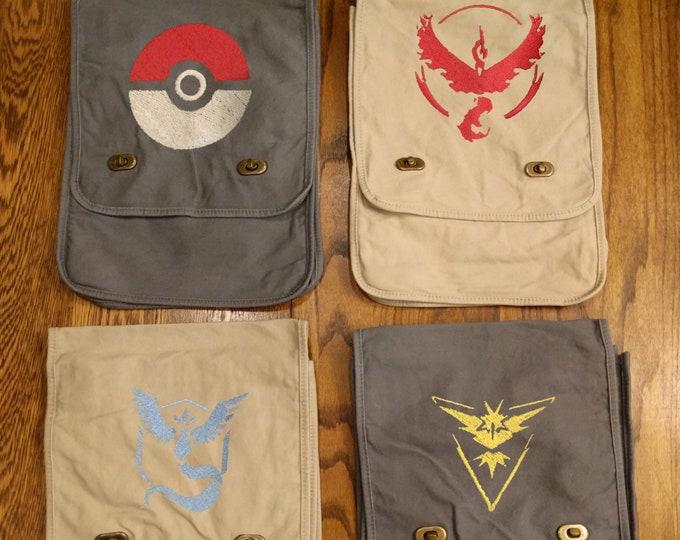 Custom Pokemon Messenger Bag