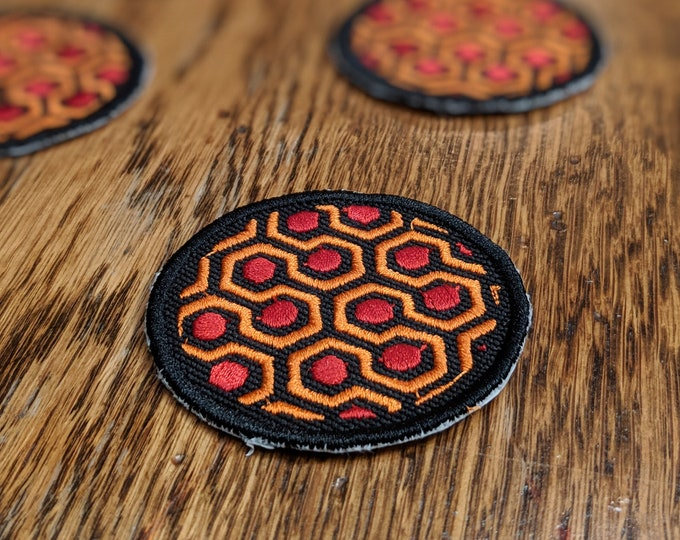 Horror Patches (redrum, shining, stephen king, overlook)
