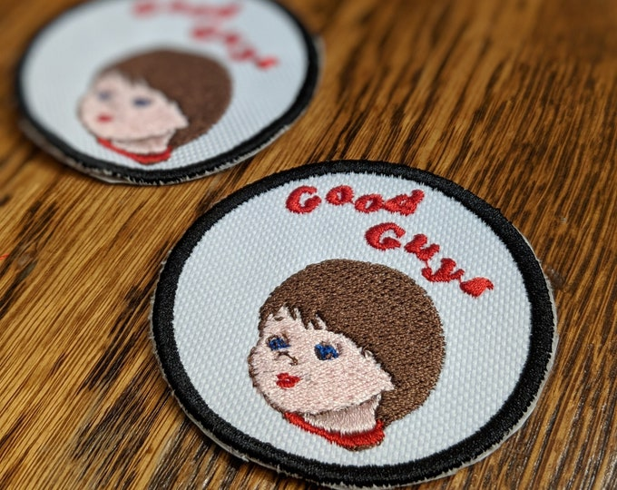 Horror Patches (chucky, childsplay, good guys, doll, charles lee ray, creepy)