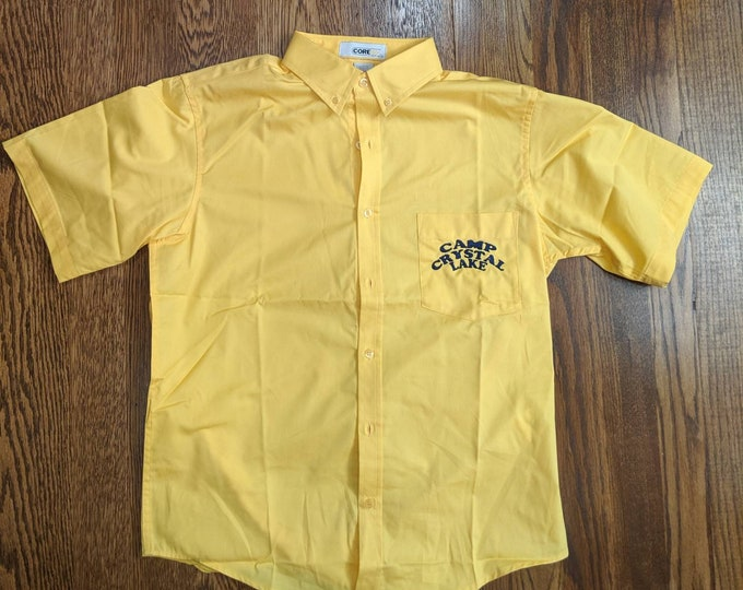 Crystal Lake Councilor Short Sleeve Button Up (as seen in the original Friday the 13th)
