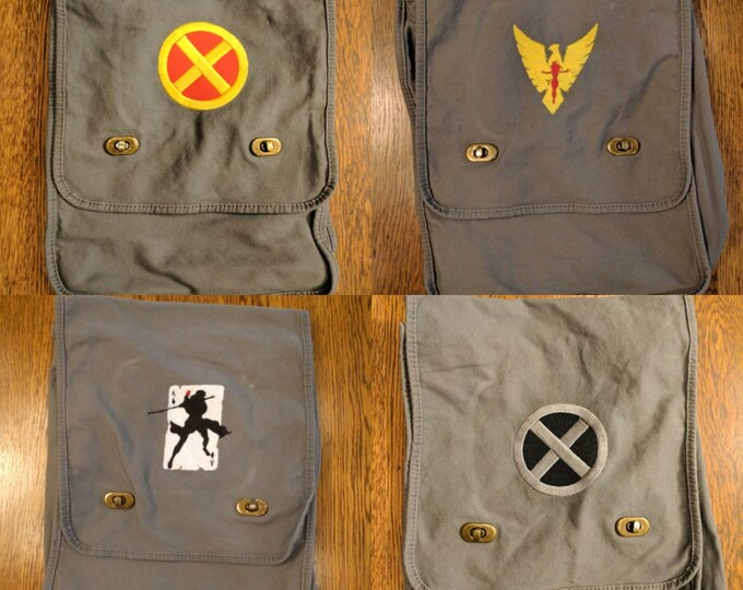 Custom X-Men Messenger Bag