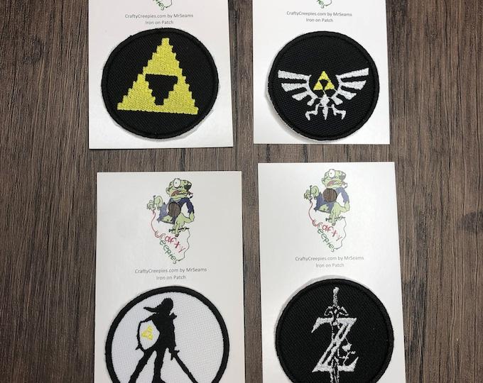 Zelda Patches (triforce, link, zelda)