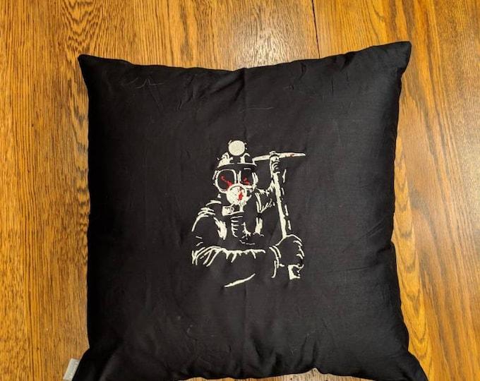Custom Horror Pillow (My Bloody Valentine)