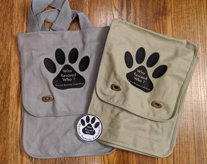 Rescue Runway Patch & Messenger Bag