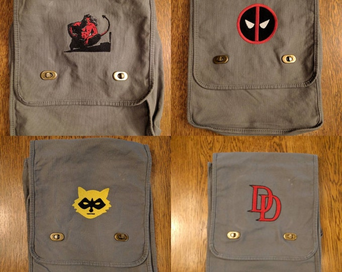 Custom Comic Messenger Bag v1