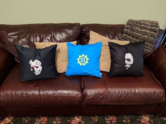 Custom Horror Pillow (Jason Voorhees, Michael Myers, Friday the 13th, Halloween, Horror)