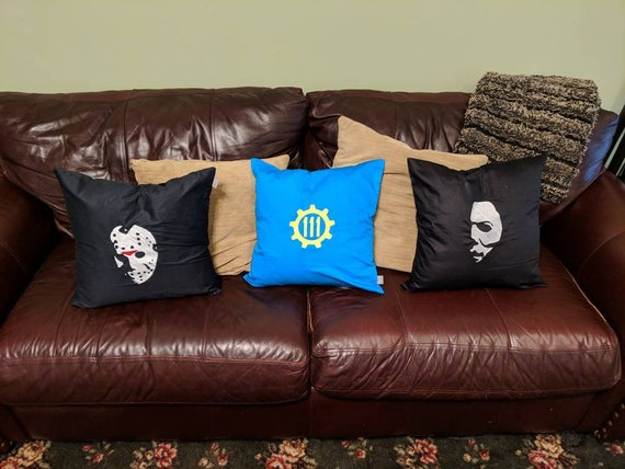 Custom Horror Pillow (Jason Voorhees, Michael Myers, Friday the 13th, Halloween, Horror)