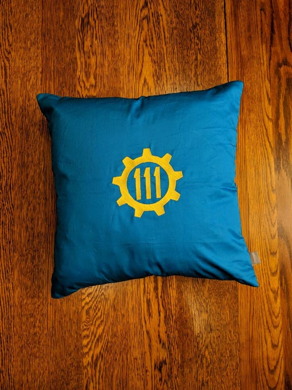 Custom Gamer Pillow (Fallout, Vault Tec, 76, 101)