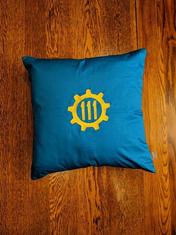 Custom Gamer Pillow (Fallout, Vault Tec, 76, 101)