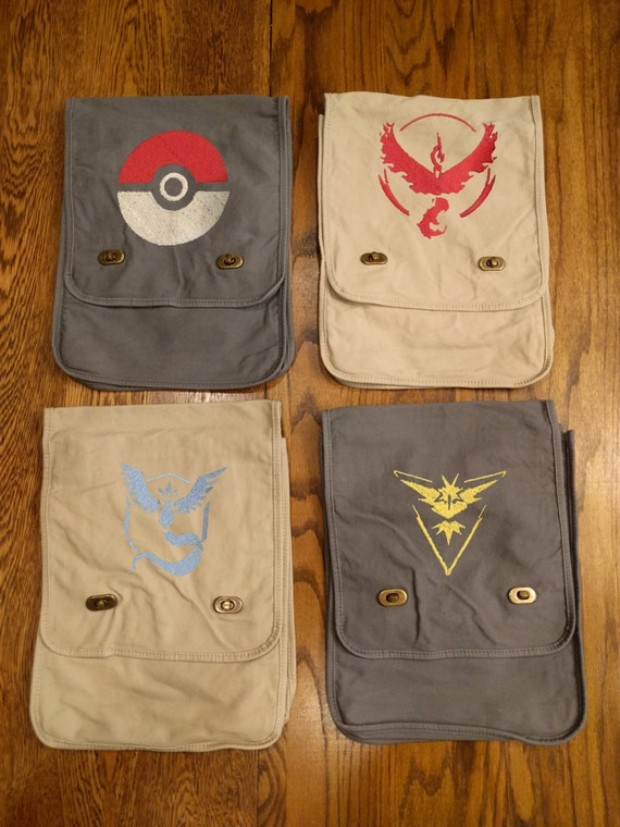 Custom Pokemon Messenger Bag