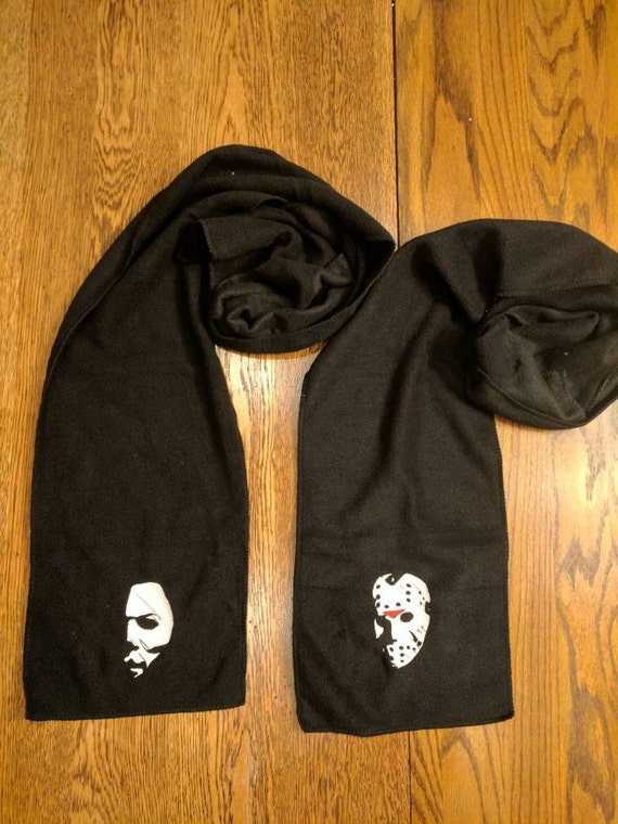 Custom Horror Scarf (Michael Myers, The Shape, Jason Voorhees, Feddy Krueger, Chucky, Hannibal Lecter, Dexter Morgan, Jigsaw)