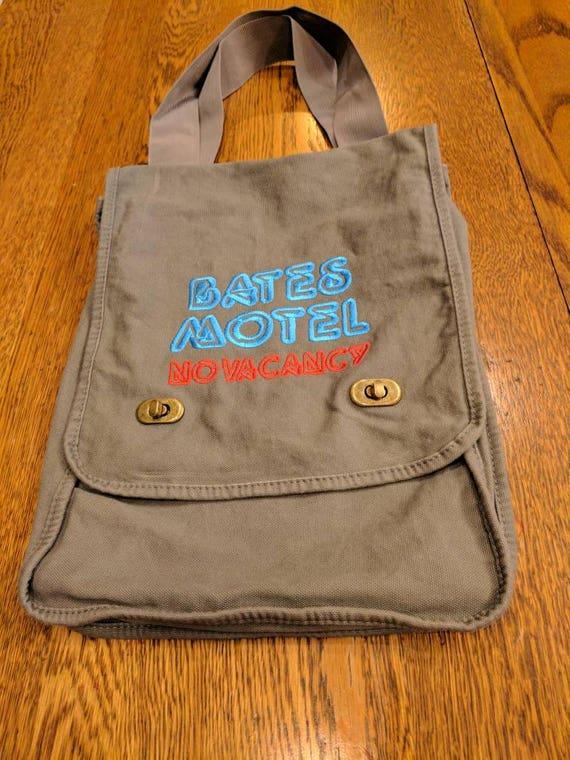 Custom Horror Messenger Bag (Bates Motel)