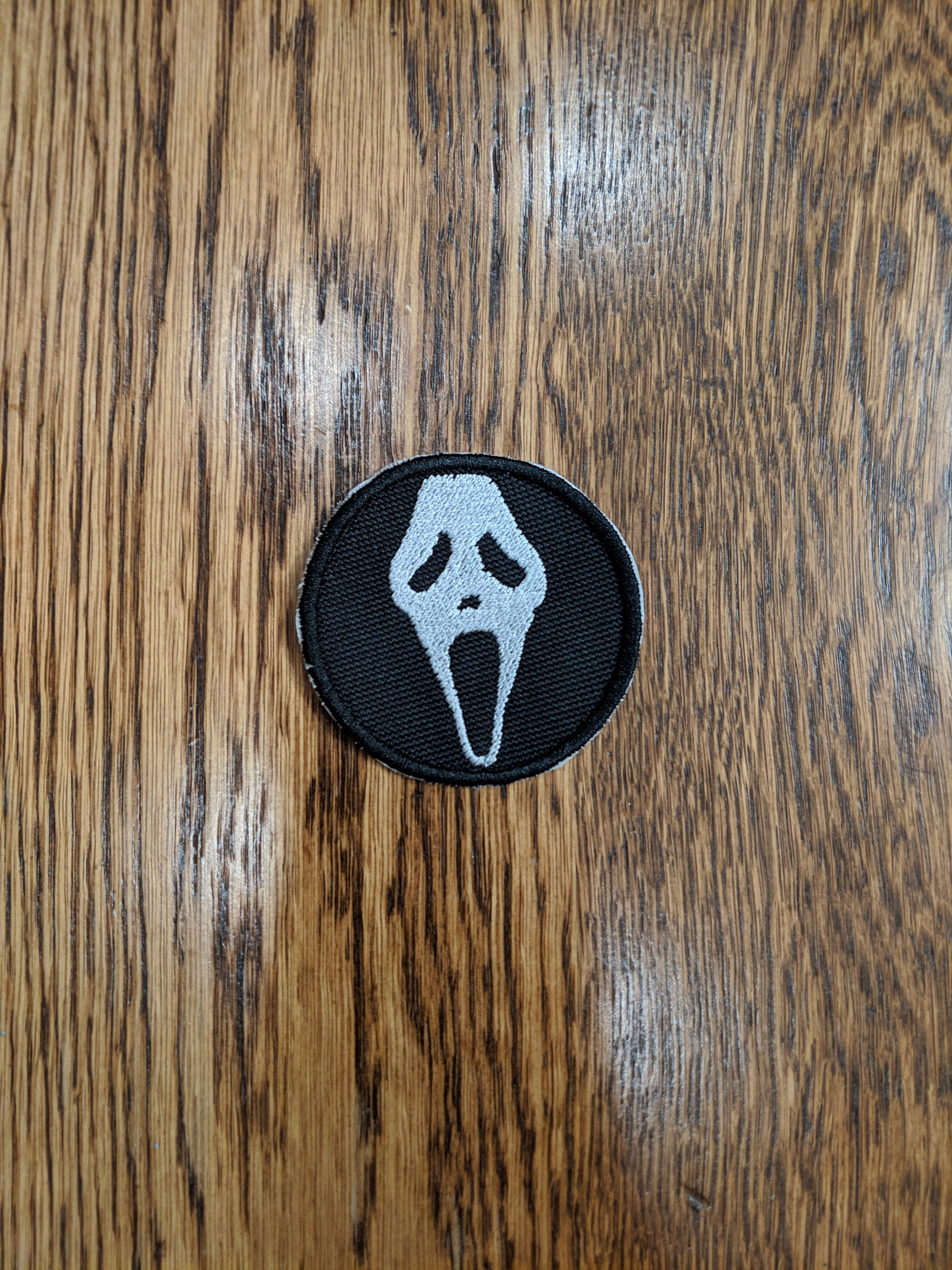 Horror Patches (scream, ghost face)