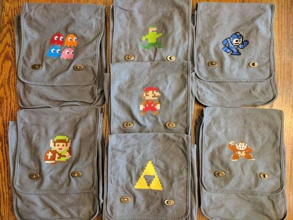 Custom Gamer Messenger Bag