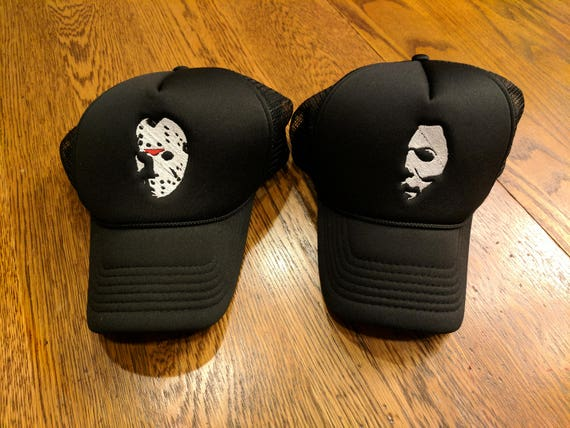 Horror Hats (Jason Voorhees, Michael Myers, Halloween, Friday the 13th)