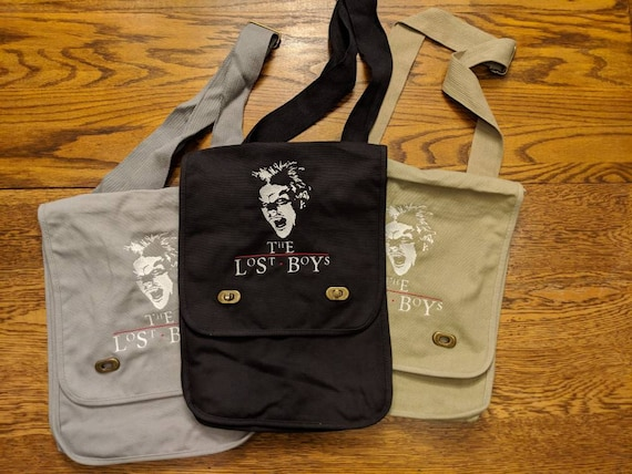 The Lost Boys Messenger Bag (vampires, 80s, 80s kids, vampire, throwback, throw back)