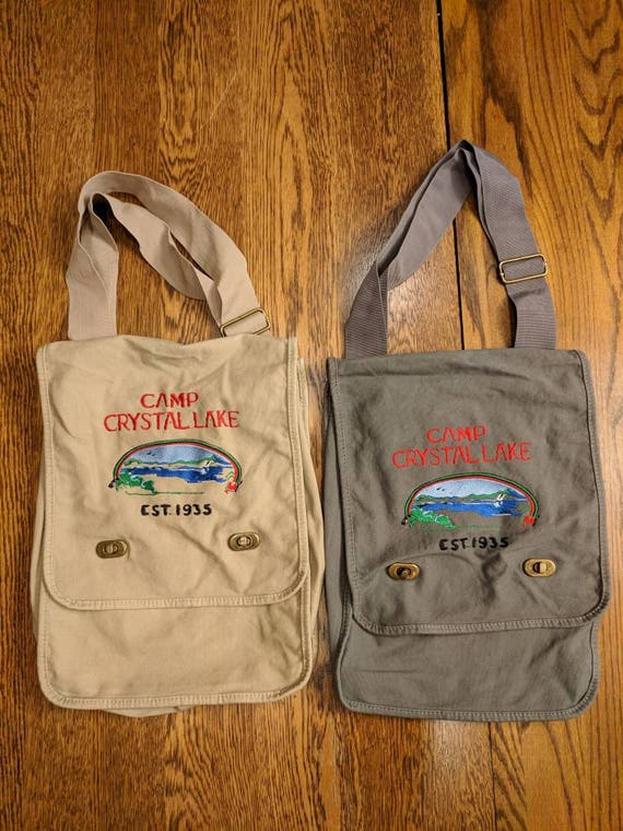 Custom Horror Messenger Bag (Camp Crystal Lake)