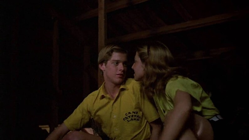 Crystal Lake Councilor Short Sleeve Button Up as seen in the original Friday the 13th