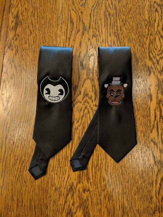 Custom Gamer Ties v3 (five nights at freddy's, bendy and the ink machine, gamers, gaymers, gamer, gaymer)
