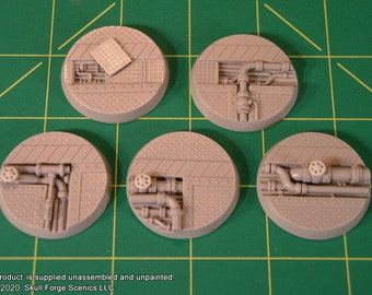 40mm INDUSTRIAL BASES (Set of 5)