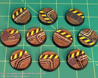 32mm INDUSTRIAL BASES (Set of 10)
