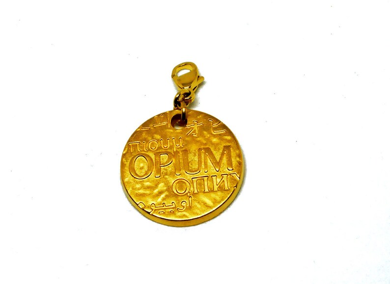 09035bdfaf4 Necklace pendant jewelry bag YSL Yves Saint Laurent charm | Etsy